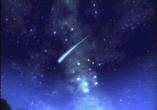 χοροσ αστεριων στον αυγουστιατικο ουρανο. ερχονται και τα δυο φεγγαρια