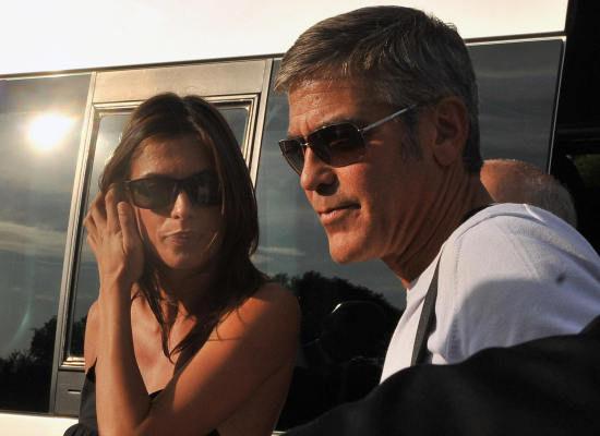 Clooney -elisabetta ταραξαν τη βενετια (φωτο)