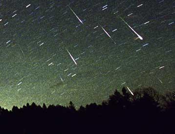 ορατη στην ελλαδα σημερα η «βροχη» των διαττοντων αστερων