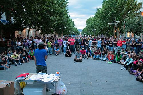 ισπανια οταν η κοινωνια κινειται …και λεει οχι στην εξαθλιωση
