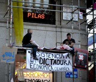 ισπανια: το κινημα τησ αγανακτησησ επιταχυνεται
