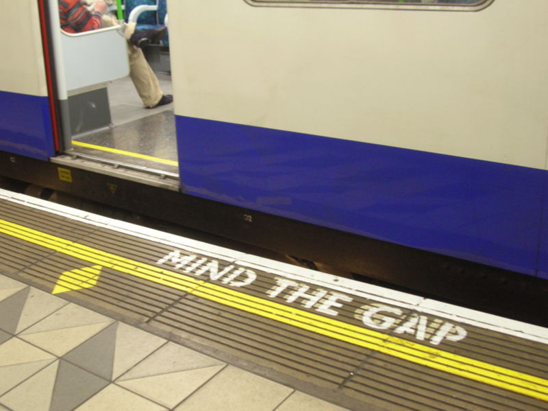 Mind the …gap