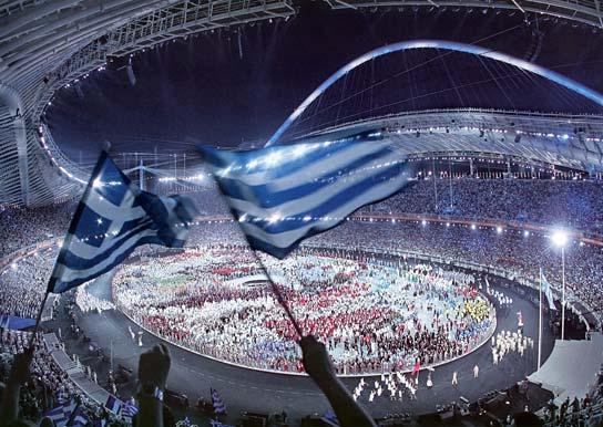η παρακαταθηκη των ολυμπιακων αγωνων του 2004
