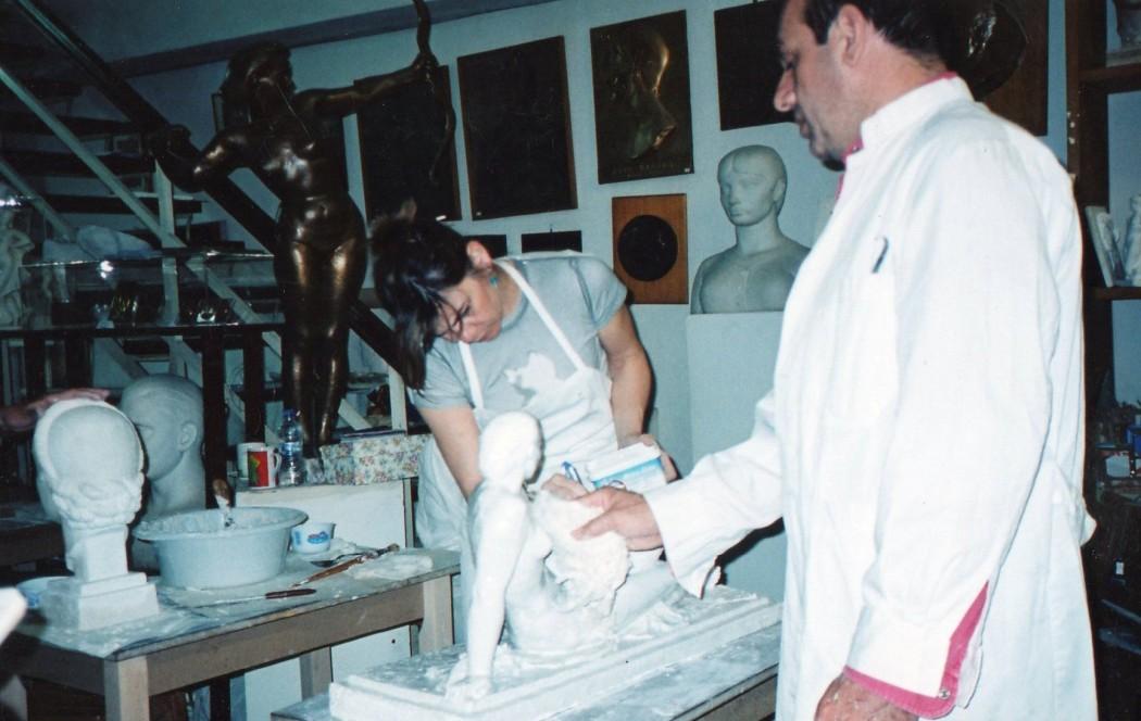 σεμιναρια γλυπτικησ στο μουσειο περαντινου