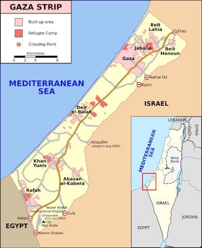 Gaza situation report (stratfor)