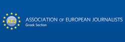 Association of European Journalists logo