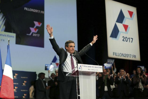 φρανσουα φιγιον: το πρωτο βημα για την προεδρια