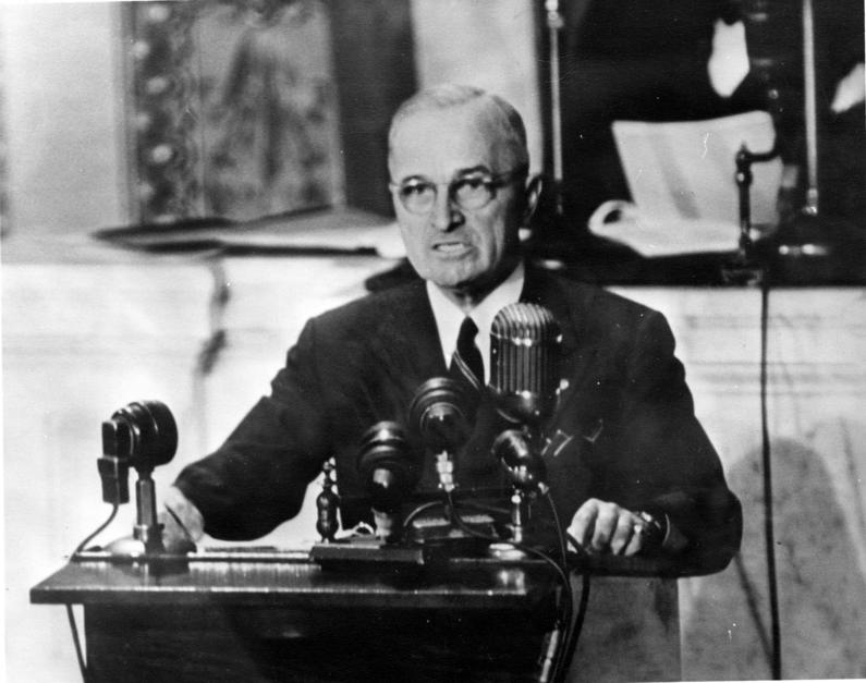 The truman doctrine redux