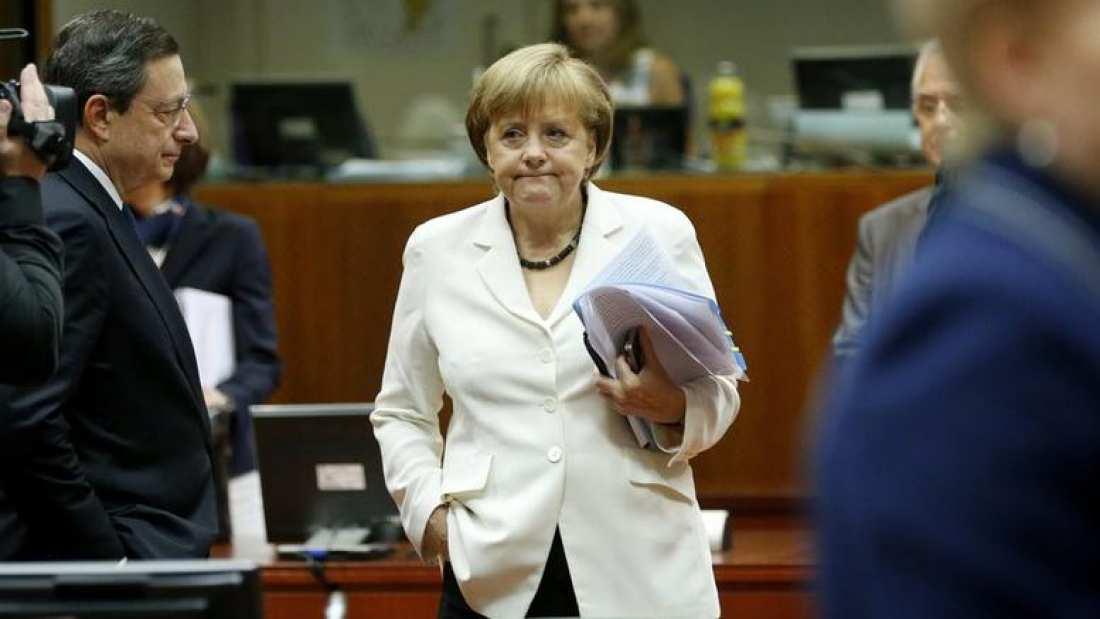 Ντράγκι Μέρκελ ΕΚΤ γερμανικές εκλογές new deal