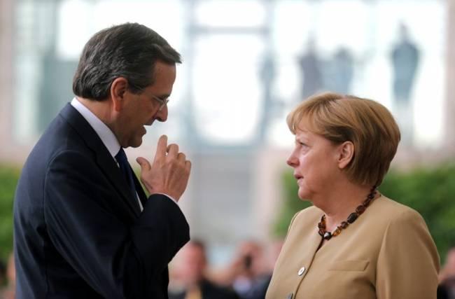 Σαμαράς Μέρκελ ηγέτες λαθρομετανάστευση AfD γερμανικές εκλογές new deal