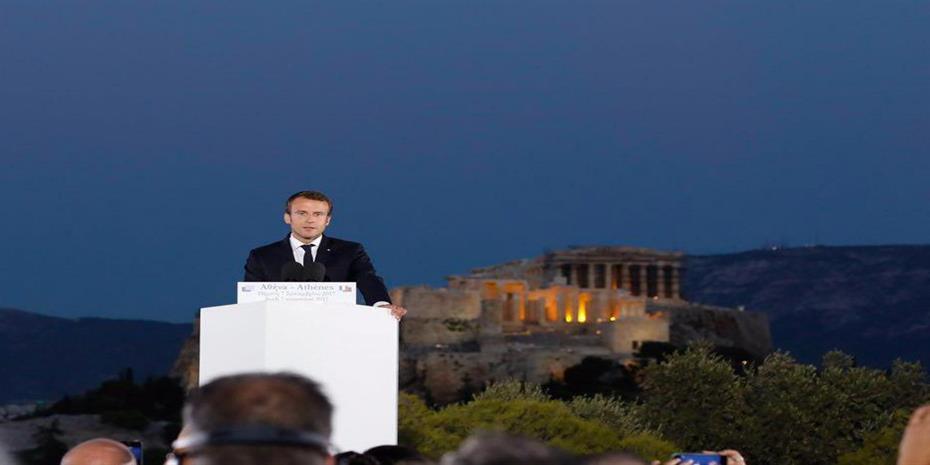 Μακρόν Πνύκα Μέρκελ Ευρώπη αλλαγή μεταρρύθμιση αντιμεταρρύθμιση new deal Πρεβελάκης