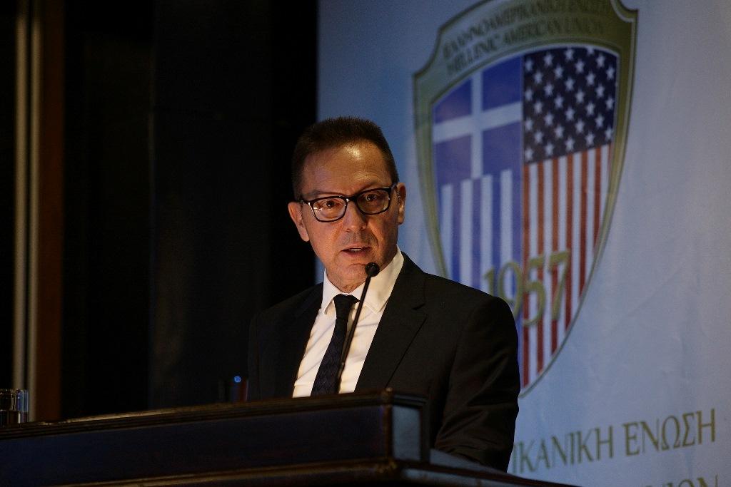 """Γιάννης Στουρνάρας Πάνω από 40 καθηγητές, πολιτικοί επιστήμονες, ιστορικοί, οικονομολόγοι και άνθρωποι του πνεύματος γενικά, πήραν μέρος σε ένα Συνέδριο που διοργανώθηκε από την Ελληνο-Αμερικανική Ένωση και το Hellenic American College (HAEC) σε συνεργασία με το Hellenic-American University (HAU). Ο τίτλος του συνεδρίου. """"Αναζητώντας την Μεταρρύθμιση στην νεότερη και σύγχρονη Ελλάδα"""". new deal Αθανάσιος Παπανδρόπουλος"""
