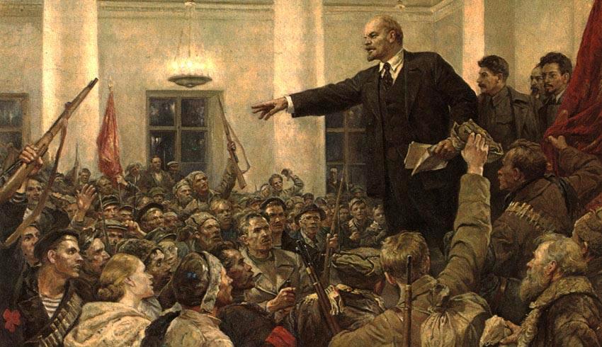Η Οκτωβριανή επανάσταση είναι ένα μεγάλο ψέμα. Μια χούφτα συνωμότες ανέτρεψαν την πρώτη δημοκρατική Ρωσική κυβέρνηση. new deal Φάνης Ζουρόπουλος Λένιν