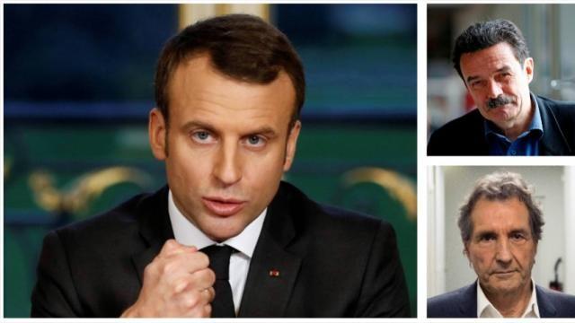 Πρόσφατα ο Μακρόν έδωσε δυο τηλεοπτικές και διαδικτυακές συνεντεύξεις θέλοντας να γίνει πιο πειστικός απέναντι στο γαλλικό κοινό για το ευρωπαϊκό σχέδιο και όραμα του. Οι δυο συνεντεύκτες του, δημοσιογράφοι, Πλενέλ και Μπουρτέν δύο ιεροεξεταστές σταλινικής κοπής δεν υπέβαλλαν ερωτήσεις new deal Αθανάσιος Παπανδρόπουλος