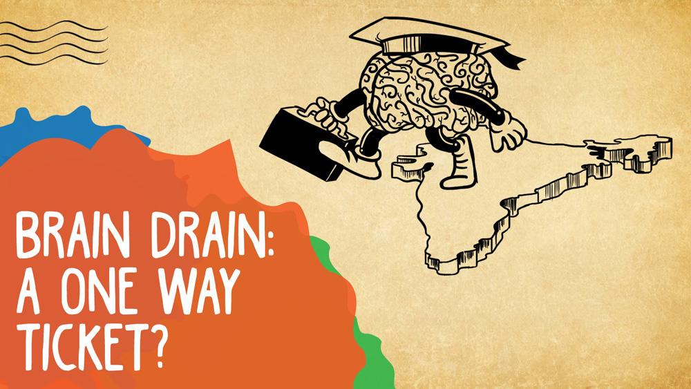 Η κρίση του ευρώ διώχνει νέα μυαλά προς τις ΗΠΑ, την Αφρική, τη Νότια Αμερική. Η Ευρώπη μαστίζεται από brain drain κυρίως από την Ιρλανδία, την Ιταλία, την Ελλάδα, την Πορτογαλία και την Ισπανία. Μόνο από την Ιταλία έφυγαν 1,5 εκ. νέα ταλέντα από το 2000 έως το 2008. new deal Edoardo Campanella