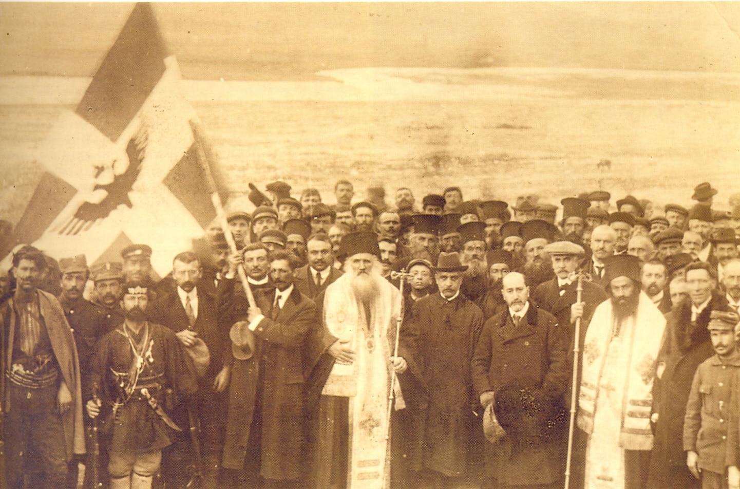 Επίσημη ανακήρυξη Ανεξαρτησίας Αργυροκάστρου 1914