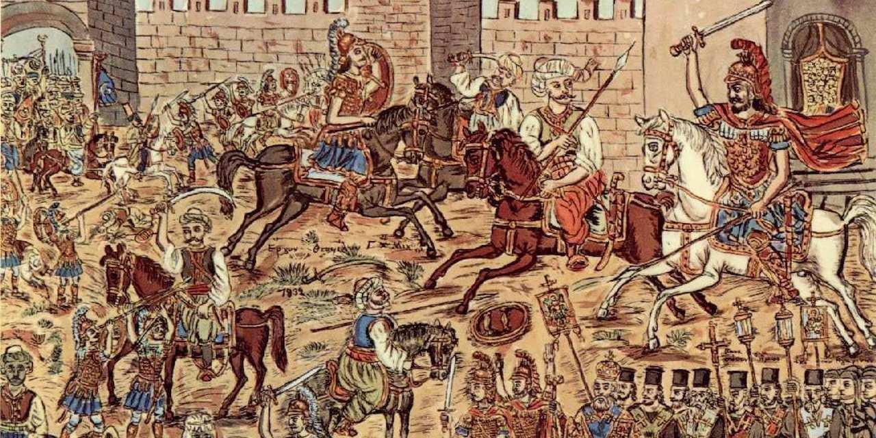 565 χρόνια από την Άλωση της Πόλης. Ξημερώματα της Τρίτης 29ης Μαΐου του 1453, στην πύλη του Ρωμανού έπεφτε νεκρός ο τελευταίος Αυτοκράτορας Κωνσταντίνος Παλαιολόγος και μαζί του και η χιλιόχρονη Βυζαντινή Αυτοκρατορία.new deal Φάνης Ζουρόπουλος