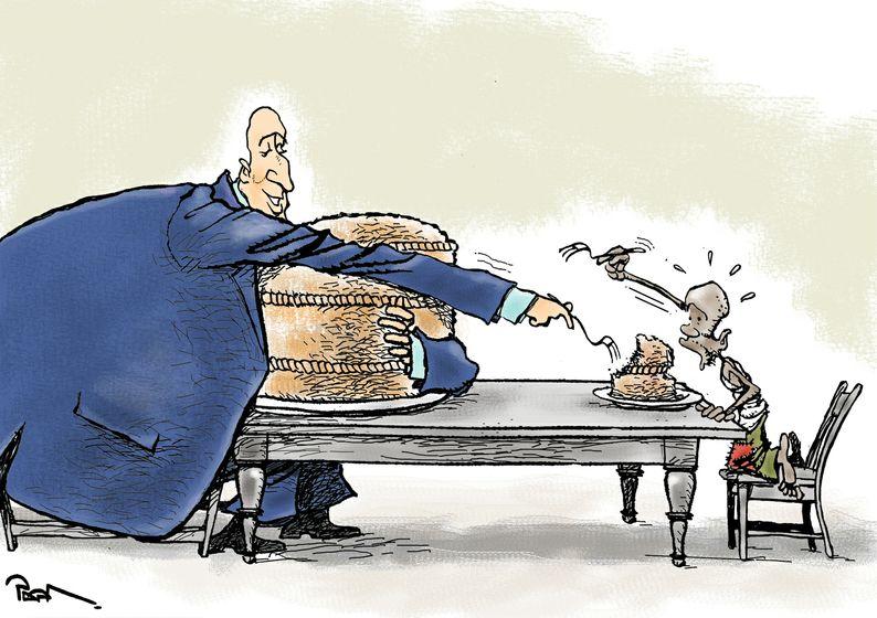 αναγκη οι πλουσιοι να γινουν φτωχοτεροι