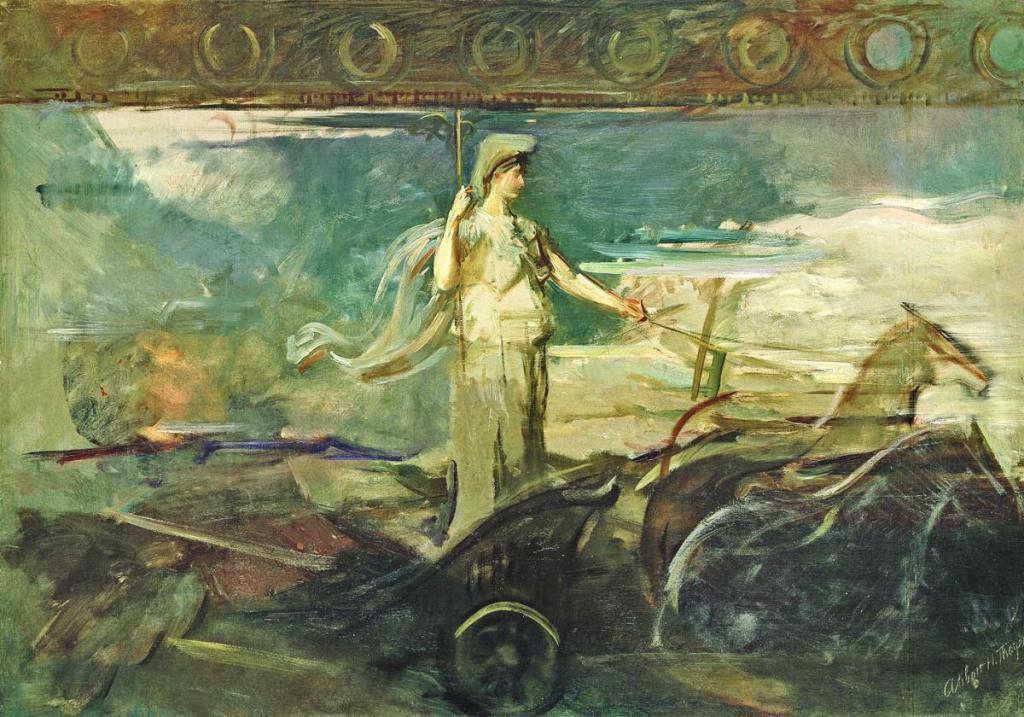 Ο Κώστας Δημ. Χρονόπουλος υπενθυμίζει ότι οι Έλληνες μεγαλούργησαν όταν οι ίδιοι οδηγούσαν - ως ηνίοχοι - και οι άλλοι λαοί ακολουθούσαν.Κάτι που προδήλως αγνοούν κάποιοι εξουσιομανείς, ριψάσπιδες Νεοέλληνες, οι οποίοι επιμένουν να πορεύονται ως... ιπποκόμοι! new deal