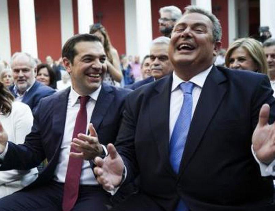 Ο Λουκάς Γεωργιάδης στηλιτεύει την πρόσφατη φιέστα Ζαππείου και την γραβάτα ευκαιρίας που φόρεσε ο Αλέξης Τσίπρας, για να σημειώσει ότι η χώρα έχει ανάγκη από γραβάτες που θα μας επιτρέψουν να γυρίσουμε στην κανονικότητα. new deal