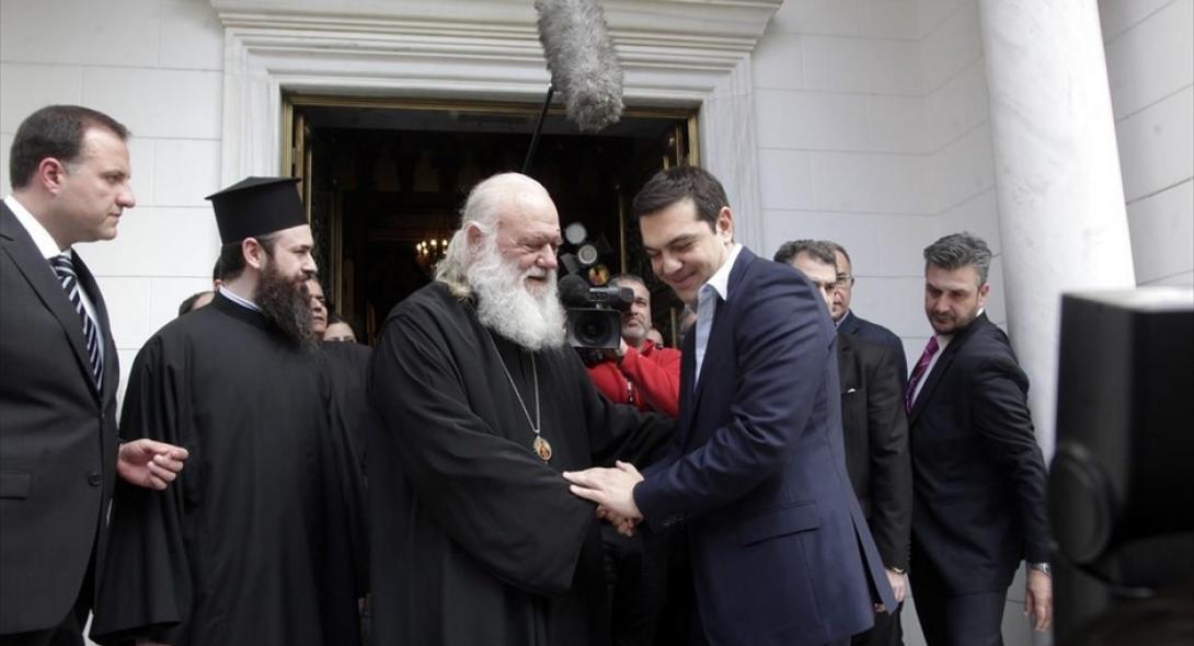 Ο Θανάσης Κ. προειδοποιεί ότι ο επόμενος στόχος της κυβέρνησης είναι η Εκκλησία. Όχι μόνο για τον διαχωρισμό Κράτους - Εκκλησίας, αλλά μέσα από την αναθεώρηση του Συντάγματος για την αλλοίωσητης πολιτιστικής ταυτότητας του Ελληνισμού. new deal