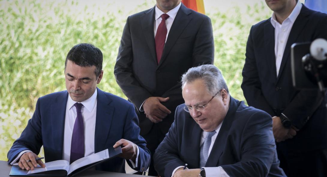 """Ο Θανάσης Κ. ισχυρίζεται ότι η συμφωνία Κοτζιά - Δημητρόφ δεν είναι παρά ένα προσύμφωνο και βεβαίως καταργείται. Ωστόσο, δημιουργεί τετελεσμένο, ως προς τη διαδικασία ένταξης των Σκοπίων στο ΝΑΤΟ και το όνομα """"Βόρεια Μακεδονία"""". new deal"""