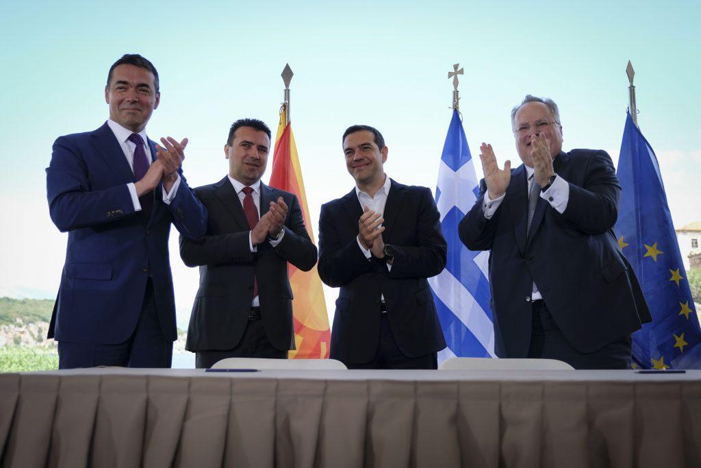 Ο Νικόλαος Τζιφάκης τοποθετείται για τη συμφωνία στις Πρέσπες. Προσδιορίζει τα όρια του συμβιβασμού υπενθυμίζοντας ότι καμία επιλογή της Αθήνας δεν θα είχε ως αποτέλεσμα την ικανοποίηση όλων των στόχων της. new deal