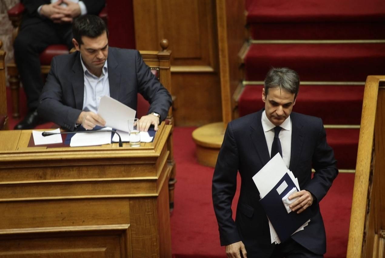 Ο Λουκάς Γεωργιάδης αποκαλύπτει την τακτική της κυβέρνησης να φορτώσει προκαταβολικά (και προεκλογικά) την αποτυχία της στην επόμενη κυβέρνηση. Για όλα φταίει ο Μητσοτάκης είναι το σύνθημα, αλλά υπάρχει τρόπος να αντιμετωπιστεί. new deal