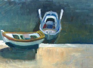 Ο Λευτέρης Κουσούλης καταθέτει τη δεύτερη, για φέτος, καλοκαιρινή του ιστορία. Αφηγείται ένα ναυάγιο. Ο μικρός καταποντισμός μιας βάρκας. Ο Άγιος Λεόντιος βυθίστηκε στο σεμνό λιμάνι του Νότου, μέσα στα ήρεμα και ασφαλή νερά του... new deal πίνακας Χριστίνα Μαρκοπούλου