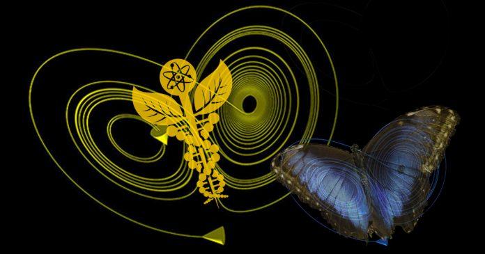 Ο Βασίλειος Παπαδάκης επιχειρεί να συνδέσει τη θεωρία του χάους, το φαινόμενο της πεταλούδας και την ετυμολογία της λέξης χάος με τον Αλέξη Τσίπρα: Ανεξέλεγκτες συγκυρίες,