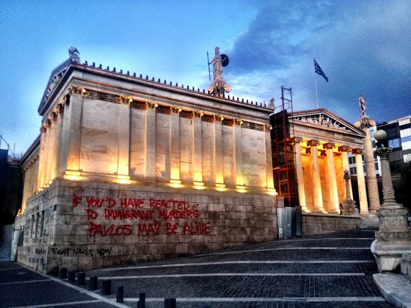 Ο Θανάσης Κ. εντοπίζει την ανοχή και την ανεκτικότητα τις αιτίες για την σημερινή ελληνική παθογένεια. Ανοχή και ανεκτικότητα σε κάθε προσπάθεια να αμφισβητηθεί το Έθνος, η Ιστορία, η παράδοση, η αισθητική, για να υπάρξει, υποτίθεται, εθνική συμφιλίωση. new deal