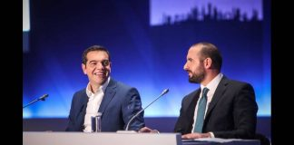 """Ο Θανάσης Κ. Κάνει αποτίμηση της απογοητευτικής παρουσίας που είχε ο Αλέξης Τσίπρας στη ΔΕΘ. Από τα όσα είπε για το Ασφαλιστικό που θα λυθεί φυσιολογικά όταν πεθάνουν οι συνταξιούχοι μέχρι την ατάκα στο τέλος της συνέντευξη του """"μέχρι και οι υπουργοί έφυγαν"""". new deal"""