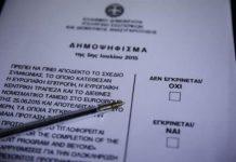 Ο Κώστας Δημ. Χρονόπουλος τονίζει ότι το δημοψήφισμα γίνεται για να εκφραστεί ο λαός. Όχι για να το αξιοποιήσει όπως το βολεύει το πολιτικό σύστημα. Αλλιώς υφίσταται δημοκρατικός ευνουχισμός. new deal