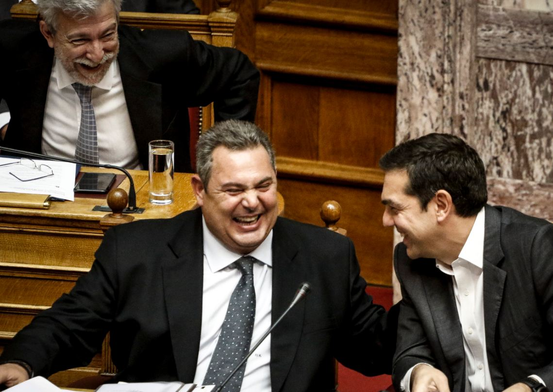 Ο Κώστας Δημ. Χρονόπουλος μιλά για την αχαριστία που δείχνει ο Αλέξης Τσίπρας στον αρχηγό των ΑΝΕΛ και την χαμένη ευκαιρία που είχε ο Πάνος Καμμένος με την συμφωνία Πρεσπών. Ενώ ζητά να δοθεί στην δημοσιότητα η επιστολή παραίτηση του Νίκου Κοτζιά. new deal