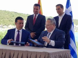 Ο Δημοσθένης Δαββέτας σημειώνει ότι η Συμφωνία Πρεσπών εναντιώνεται τη λαϊκή βούληση. Το Βόρεια Μακεδονία αφήνει να υπονοηθεί ότι κάποια στιγμή μετά από χρόνια μπορεί να τεθεί θέμα ένωσης Βορρά και Νότου. Που σημαίνει κίνδυνος απώλειας εδαφών της Ελλάδας. Και ο ελληνικός λαός ένιωσε την απειλή. new deal