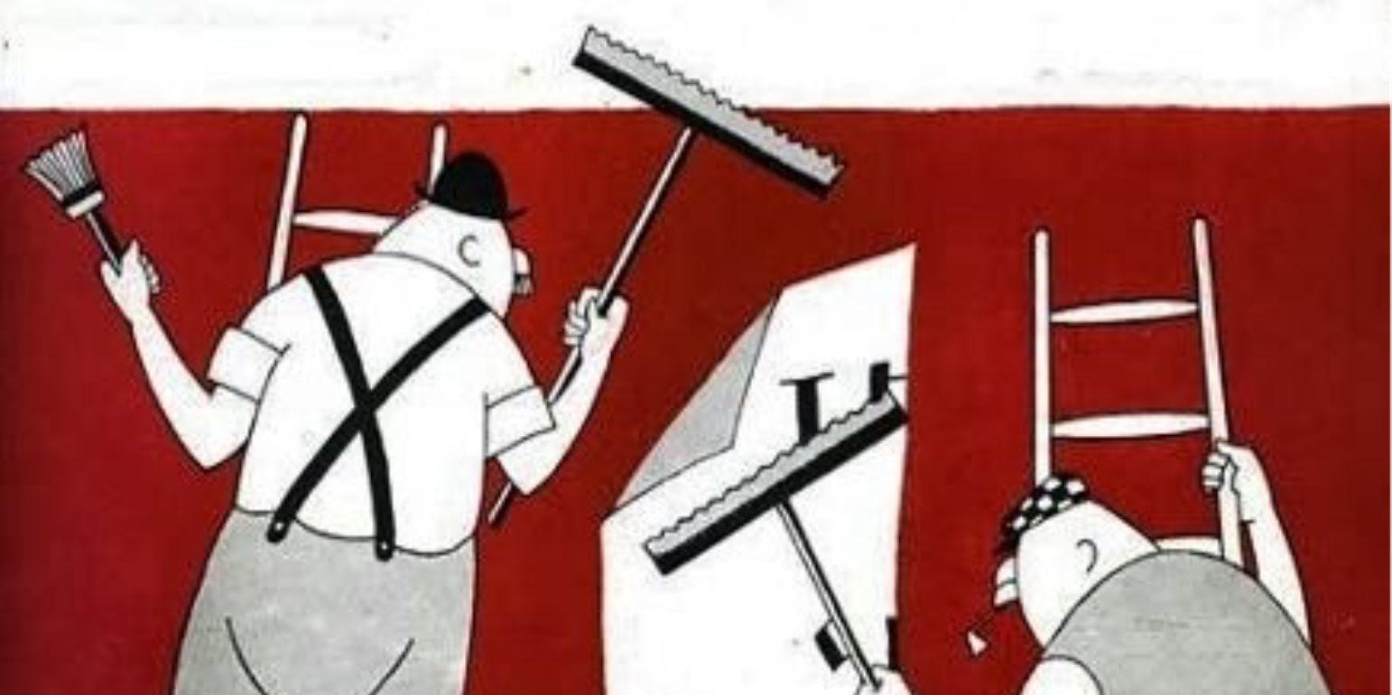 Ο Ηλίας Καραβόλιας περιγράφει το πως οι παλαιοί αφισοκολλητές έχουν μετατραπεί σήμερα σε trolls του διαδικτύου. new deal