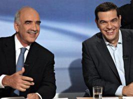 Ο Θανάσης Κ. σημειώνει ότι η πόλωση δεν κολλάει με τη συνεργασία. Με άλλα λόγια δεν μπορεί να ζητά η ΝΔ (ή κάποια στελέχη της) να υπάρξει συνεργασία με τον ΣΥΡΙΖΑ που συνειδητά και κατ' εξακολούθηση πολώνει. new deal