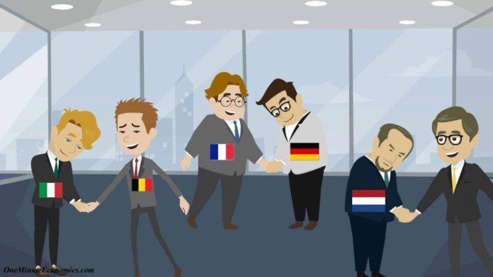Ο Ηλίας Καραβόλιας παρά τον ανύπαρκτο διάλογο που γίνεται για την Ευρώπη αποκαλύπτει μια πρόταση για νομισματική υπερδομή στην Ευρωζώνη, μια Ευρωπαϊκή Ένωση Εκκαθάρισης των συναλλαγών για να αποφεύγονται οι ανισορροπίες... new deal
