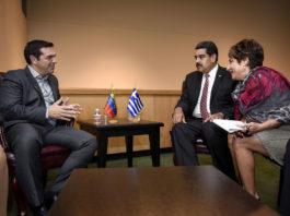 Ο Θανάσης Κ. αναλύει την κατάσταση στην Βενεζουέλα και αποδομεί το επιχείρημα της κυβέρνησης ΣΥΡΙΖΑ ότι πρόκειται για πραξικόπημα εναντίον του Μαδούρο. Σε κάθε περίπτωση η νέα κυβέρνηση θα αποκαλύψει πολλά για τις σχέσεις που είχε μαζί του ο Αλέξης Τσίπρας. new deal