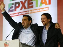 """Ο Θανάσης Κ. αναρωτιέται γιατί ο ΣΥΡΙΖΑ πανηγυρίζει για το αποτέλεσμα στις ισπανικές εκλογές, σημειώνοντας ότι πρόκειται για ισπανικό δράμα και ελληνική φαρσοκωμωδία. Διότι αυτό που συνέβη ήταν μετακίνηση από την Κεντροδεξιά προς τα """"δεξιότερα"""" και από την Αριστερά προς το κέντρο με ενίσχυση αυτονομιστικών κομμάτων. new deal"""