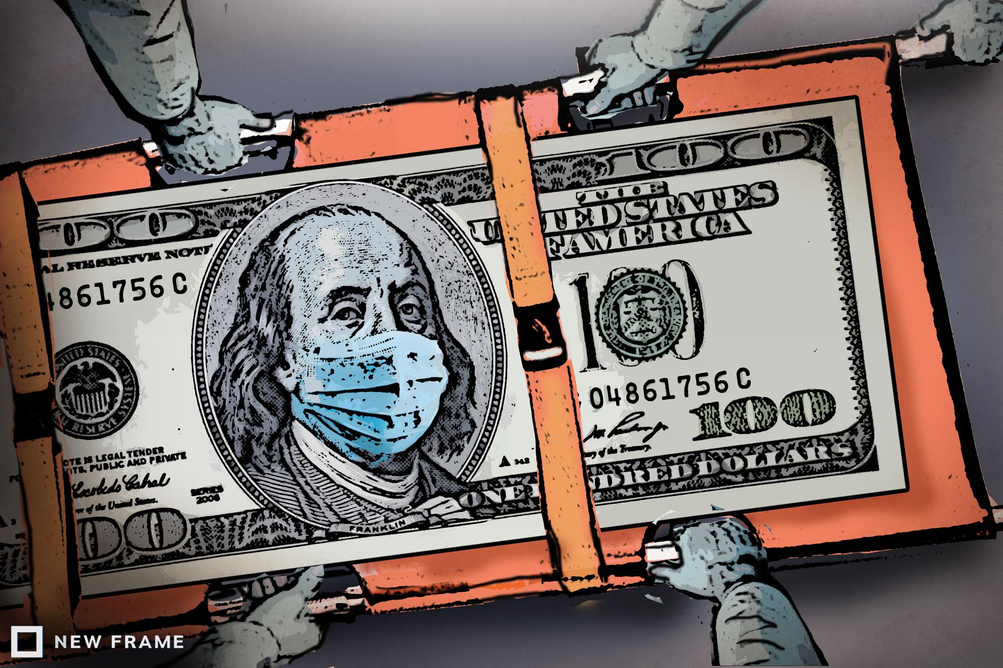 Ο Ηλίας Καραβόλιας προβλέπει ότι από την στιγμή που ο καπιταλισμός μπήκε σε καραντίνα, προμηνύεται μεγάλη ύφεση διεθνώς. Το σύστημα πάτησε φρένο και θα μειωθεί η κατανάλωση με όλα τα συνεπακόλουθα. Παραγωγή και εμπόριο θα ψάξουν να βρουν νέα σημεία ισορροπίας. new deal
