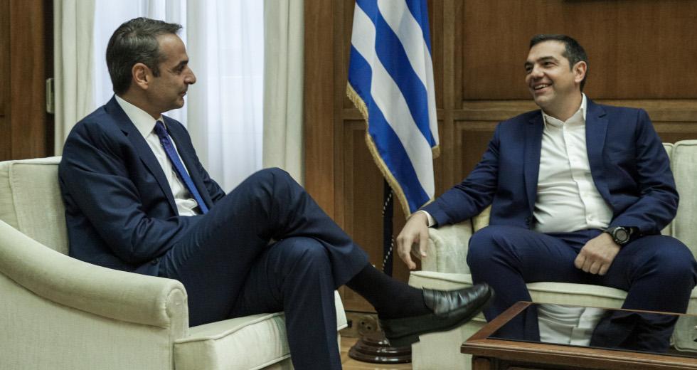 """Ο Θανάσης Κ. σπεύδει να προειδοποιήσει πως ο Κυριάκος Μητσοτάκης και Αλέξης Τσίπρας δεν μπορούν να συνεργαστούν. Μπορεί η εθνική συναίνεση να ακούγεται """"πιασάρικη"""" στην συγκυρία που διέρχεται η χώρα, πλην όμως τα """"θα λογαριαστούμε"""" δεν επιτρέπουν τέτοιου είδους σκέψεις… new deal"""