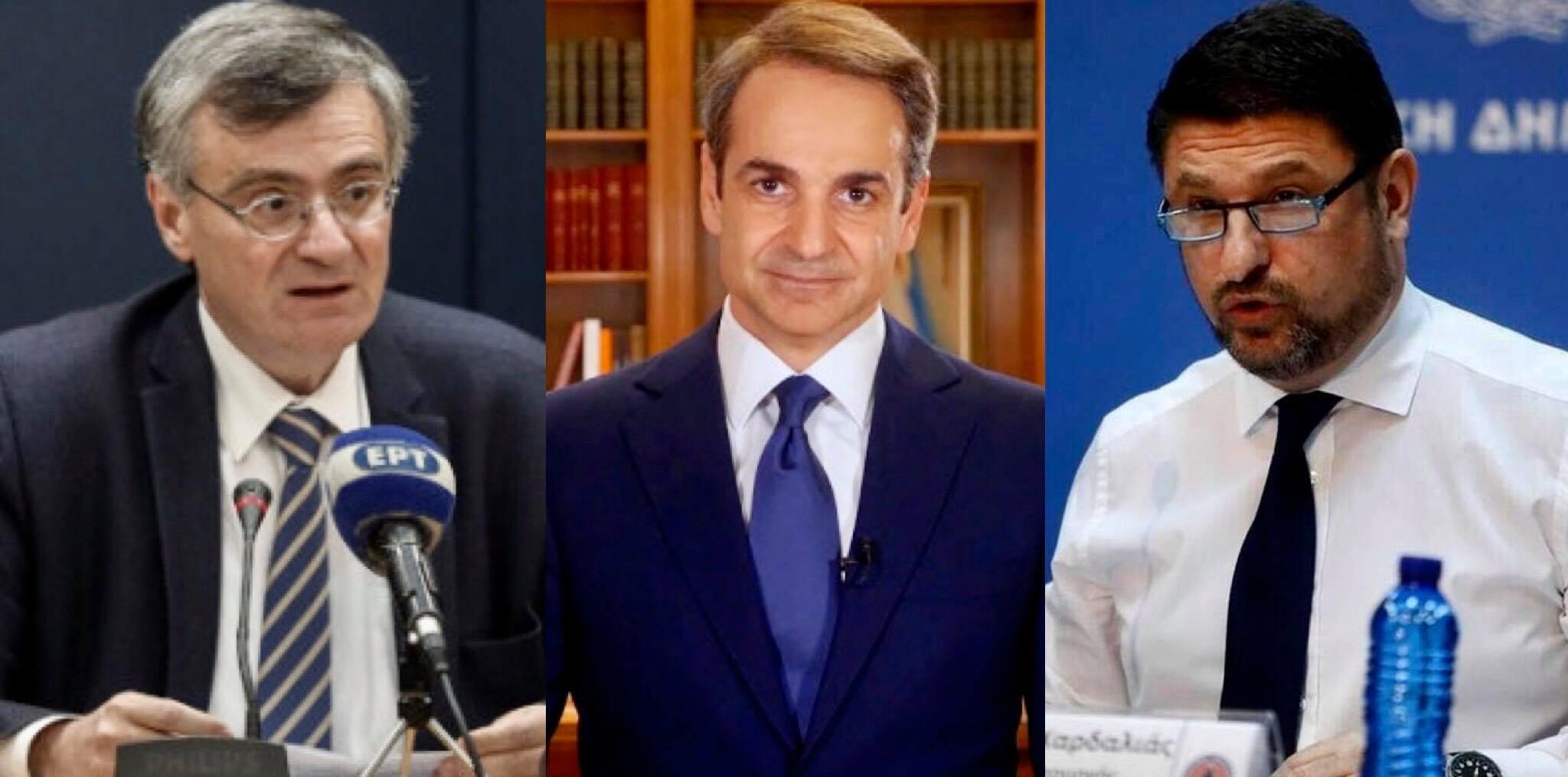 Ο Θανάσης Κ. αναλύει τον τρόπο λήψης αποφάσεων στην διαχείριση κρίσης που επιβάλλει ο κορωνοϊός. Πρόκειται για την τριάδα ειδικοί, πολιτικοί, γραφειοκράτες που διαμορφώνουν την στρατηγική. Στην ελληνική περίπτωση, η Τριάδα Σωτήρης Τσιόδρας, Κυριάκος Μητσοτάκης, Νίκος Χαρδαλιάς. new deal