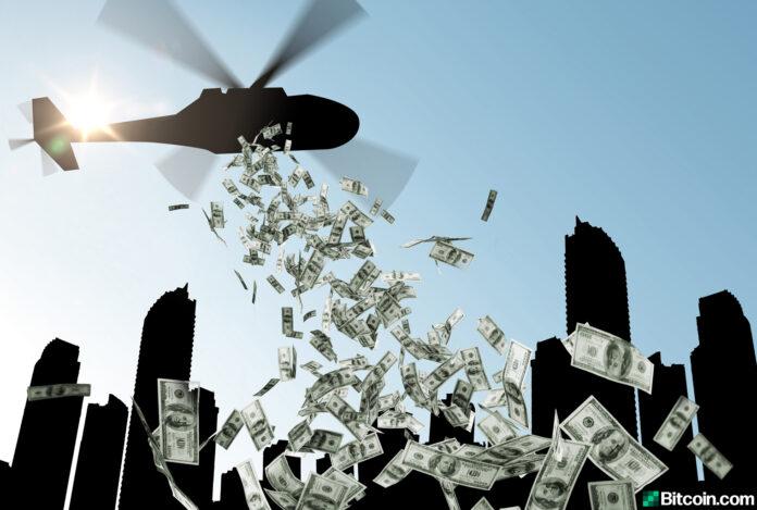 Ο Αθανάσιος Παπανδρόπουλος περιγράφει το πείραμα που κάνουν οι κυβερνήσεις με το χρήμα ελικόπτερο (helicopter money) που θα τρόμαζε ακόμα και τον πατριάρχη της ιδέας της κρατικής ενίσχυσης Τζων Κέϋνς. Γιατί ως πείραμα, ουδείς γνωρίζει την κατάληξη. Ο πληθωρισμός παραμονεύει απειλητικά κι όχι μόνον… new deal