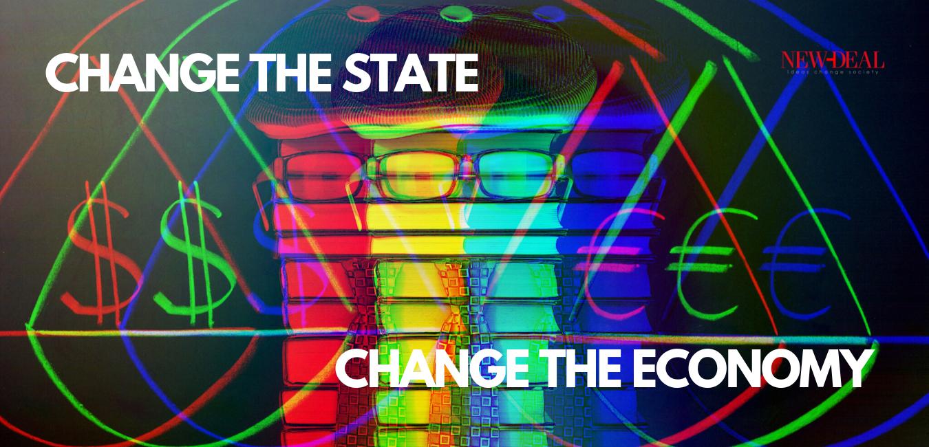 Ο Κώστας Χριστίδης αναρωτιέται πως θα γίνει η αλλαγή του οικονομικού μοντέλου. Ποιο τελικά θα (πρέπει) να είναι το νέο παραγωγικό μοντέλο και αν αυτό δεν αφορά την οικονομία, αλλά το κράτος. new deal