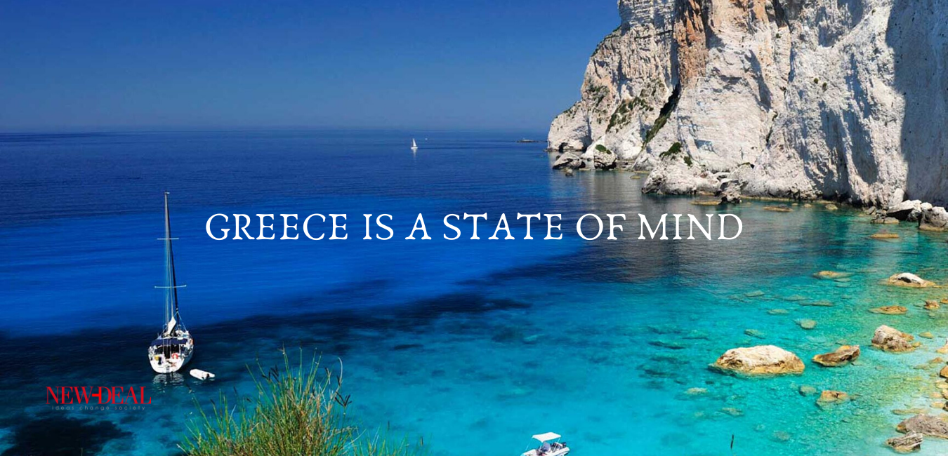 Ο Λουκάς Γεωργιάδης επιμένει να βλέπει την καταστροφή τουριστικού προϊόντος φέτος, ως ευκαιρία για το αύριο. Ένας άλλος τουρισμός σε μια άλλη Ελλάδα είναι το στοίχημα που πρέπει να κερδίσουμε. new deal