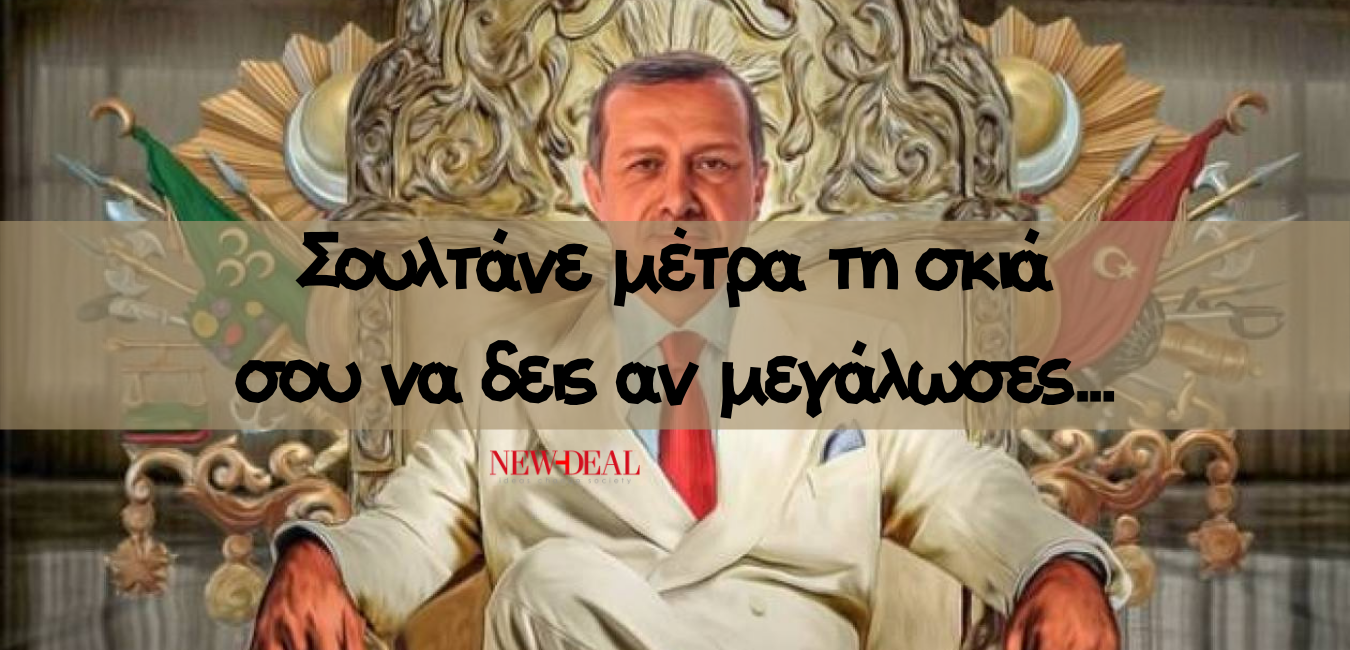 Ο Βασίλειος Παπαδάκης θεωρεί πως ο Ερντογάν πάσχει από ψευδαισθησία χαρακτηριστικά που συναντά κανείς σε άτομα με ψευδαισθησία. Ωστόσο, η συμπεριφορά του σε έναν κόσμο χωρίς Διεθνές Δίκαιο και με τους πολυμερείς θεσμούς ΟΗΕ, ΝΑΤΟ σε υπαρξιακή κρίση η Ελλάδα πρέπει να αναστοχαστεί την πολιτική της. new deal
